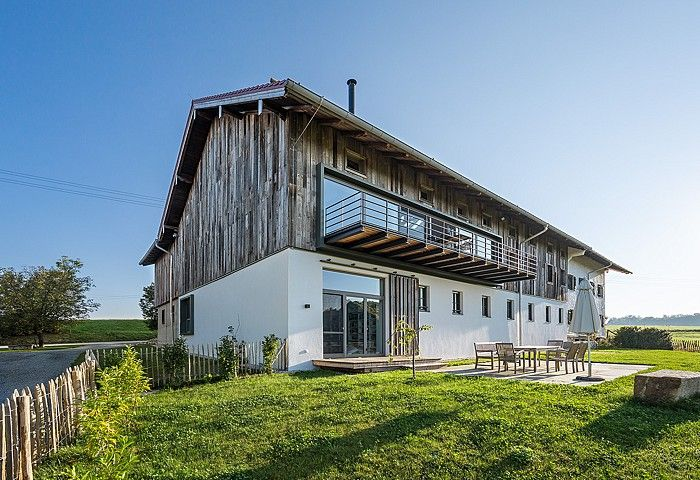 Questarchitekten Bauernhaus In Riedering Bauernhaus