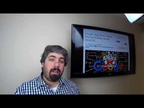 Search Buzz Video Recap: Google Mobile First Algorithm Update 2017 SEO Advice & More