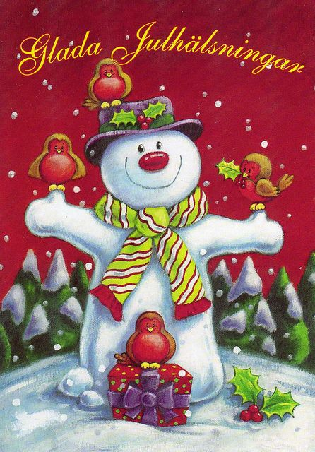 In Finland: Christmas Cards, Christmas Wins, My Cousins, Nice Christmas, Greeting Cards, Christmas, Snowpeopl, Christmas Day, Christmas Snowmen