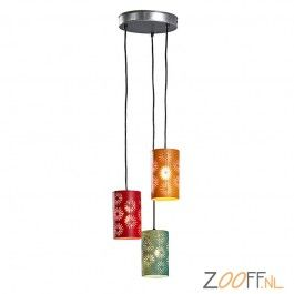 Kave Acanem 3-lichts hanglamp Ø13