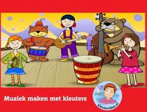 Robiť hudbu s predškolákmi na interaktívnu tabuľu alebo počítačovej kleuteridee.nl - Materská škola Vzdelávacie hry pre ideálnej telesnej hmotnosti alebo počítaču