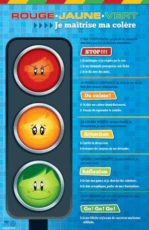 AFFICHE / Un outil psychoéducatif pour aider le jeune à maîtriser sa colère