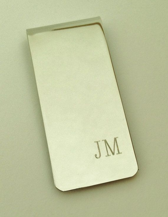 Personalized Money Clip  Groomsmen Gift Father of by netexchange, $14.95