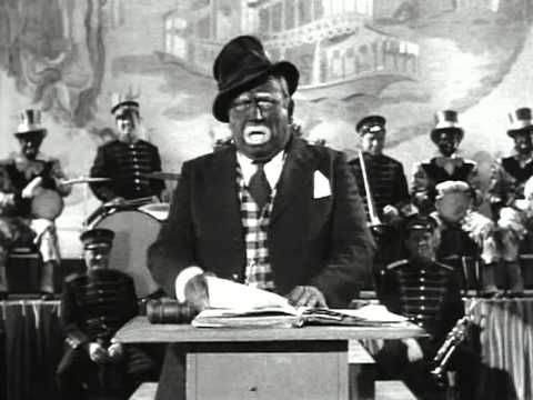This clip is an example of black face minstrelsy and the stereotypical vision of blacks and black politician.