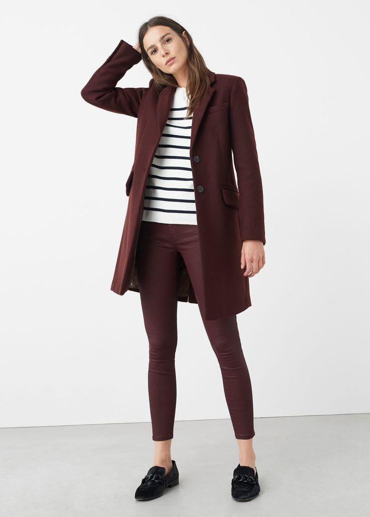 Belle gecoate skinny jeans | MANGO