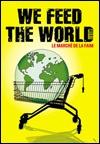 CINE(EDU)-545. Nosotros alimentamos al mundo. Dir. Erwin Wagenhofer. Austria, 2005. Documental.  Documental sobre os alimentos e a globalización, sobre os pescadores e os agricultores, sobre os camioneiros de longa distancia e os executivos de grandes compañías, sobre a circulación dos alimentos. Ofrece unha visión do proceso de produción da nosa comida á vez que responde á pregunta de que ten que ver con todos nós a fame no mundo.  http://kmelot.biblioteca.udc.es/record=b1490100~S3*gag