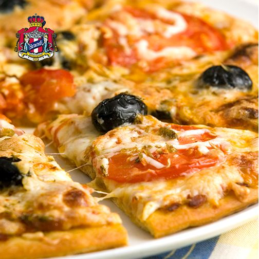When in Rome… try our Romana pizza. Authentic Italian flavours brought to you by #BrandiPizzeria UAE!