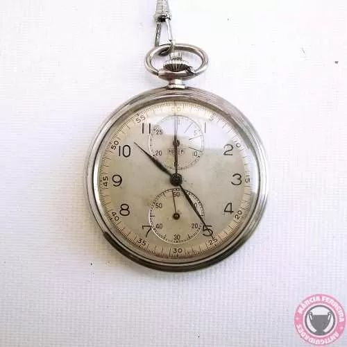 Relógio De Bolso E Cronômetro Heuer