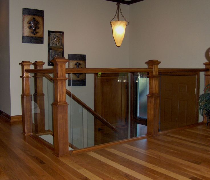 glass railings indoor | Ford Metro Glass | Deck railing, interior railing and glass hand rails ...