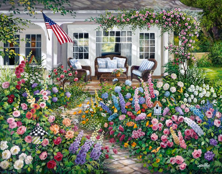 98 Best English Cottage Gardens Images On Pinterest