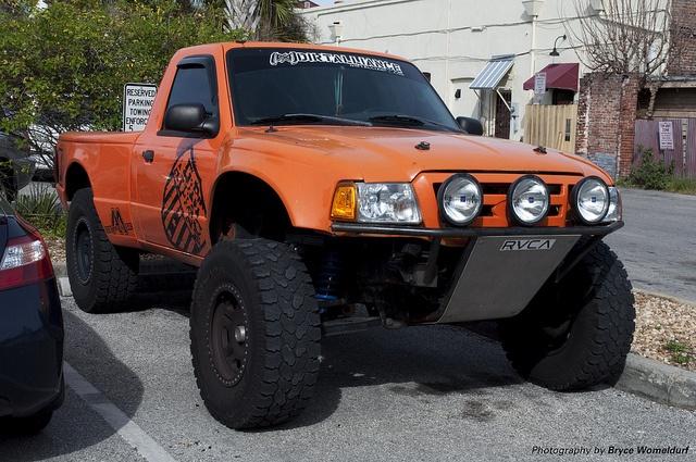 Ford Ranger Ranger Trophy Truck in St Augustine by Bryce Womeldurf, via Flickr
