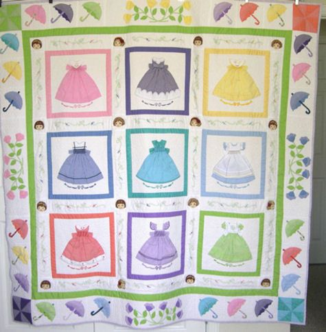 229 best doll dress quilts images on Pinterest | Appliques ... : doll dress quilt - Adamdwight.com