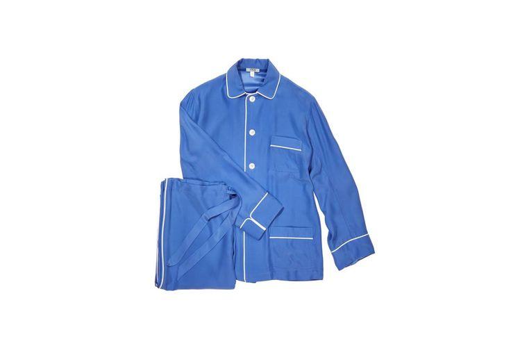 Olatz Pajama Set in Blue