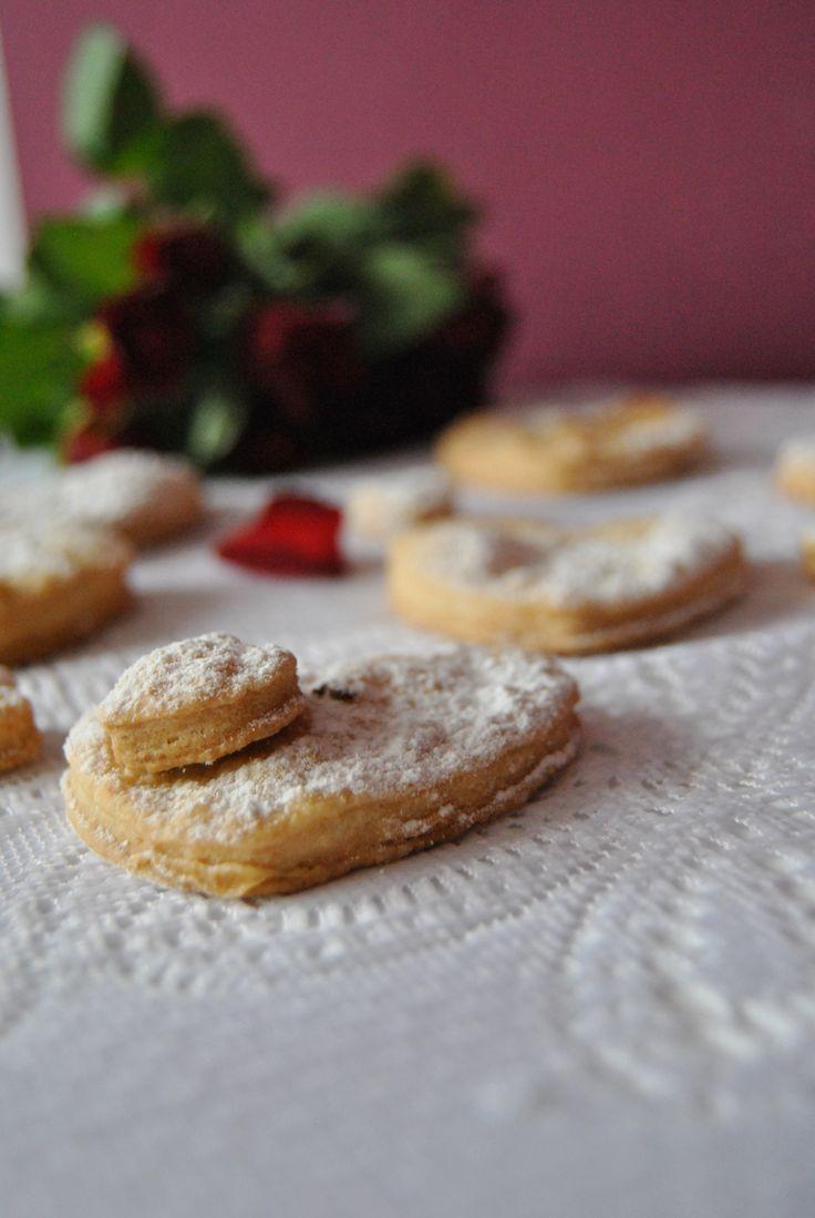 Maślane ciasteczka/ walentynki