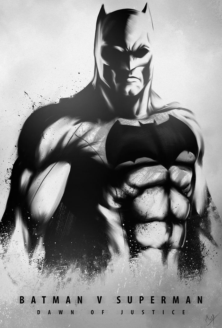 Dawn of Justice Batman by Nimesh Niyomal
