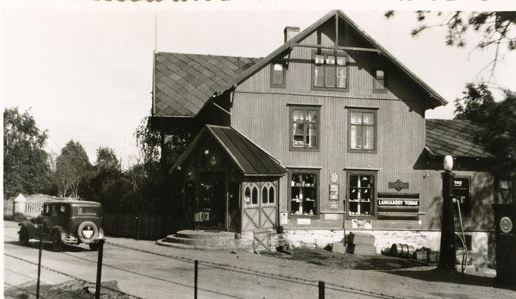 Oppland fylke Sør-Fron kommune Hundorp Golå handel. Ca1930