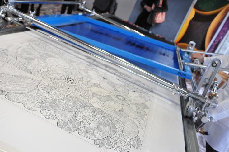 Silk Screen Machine