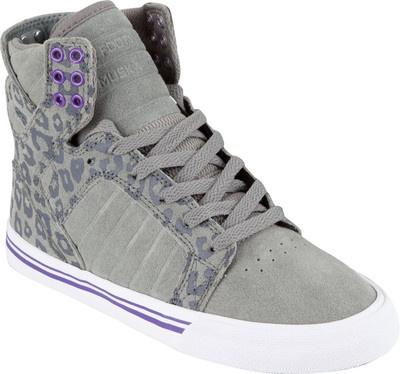 Chaussures Supra Wmns Bander Blanc / Gris -? Blanc, Blanco (blanco), 40 1/2