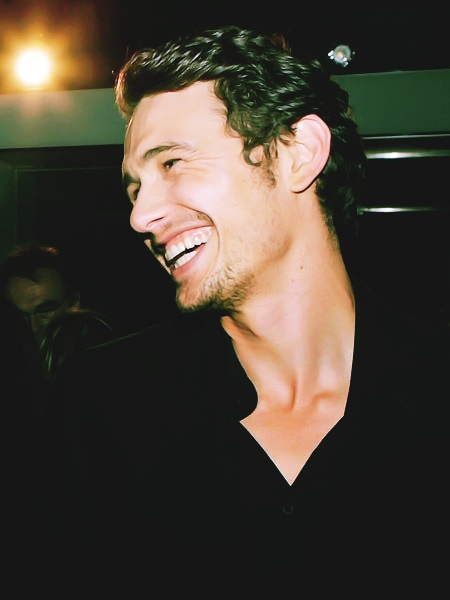 James Franco's beautiful and sexy smile