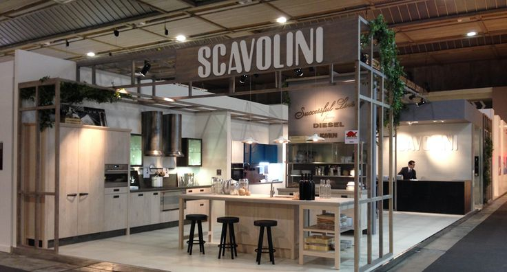 From February 20th to March 2nd #Scavolini took part in a very important exhibition in Belgium at the Brussels Expo Centre: the #Batibouw fair 2014 | #DieselSocialKitchens