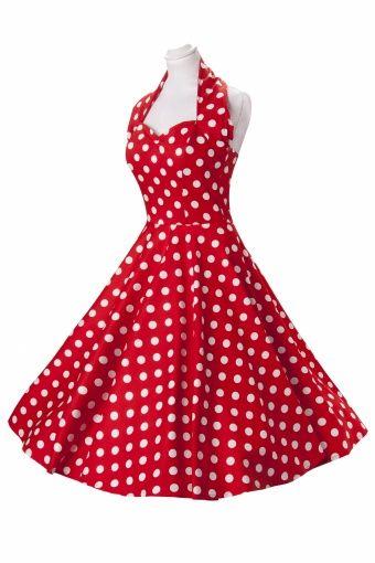 Vanavond een Hillbilly avond in mijn favoriete rockcafé. Even snel een bijpassend jurkje kopen!