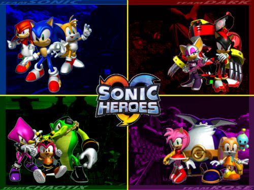 sonic heroes team rose cutscene sonic - Google Search