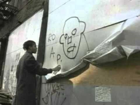 Basquiat Painting Live Downtown 81.avi