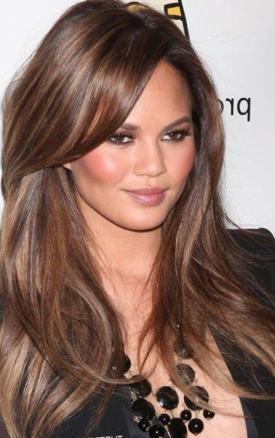 Hairstyles 2017 Brown Hair : ... brown hair dos pomegranate red colors fall color created hair color
