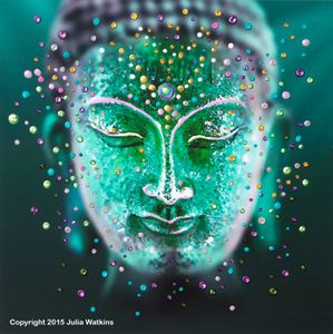 100 best energy artist julia images on pinterest chi for Does buddha bring good luck