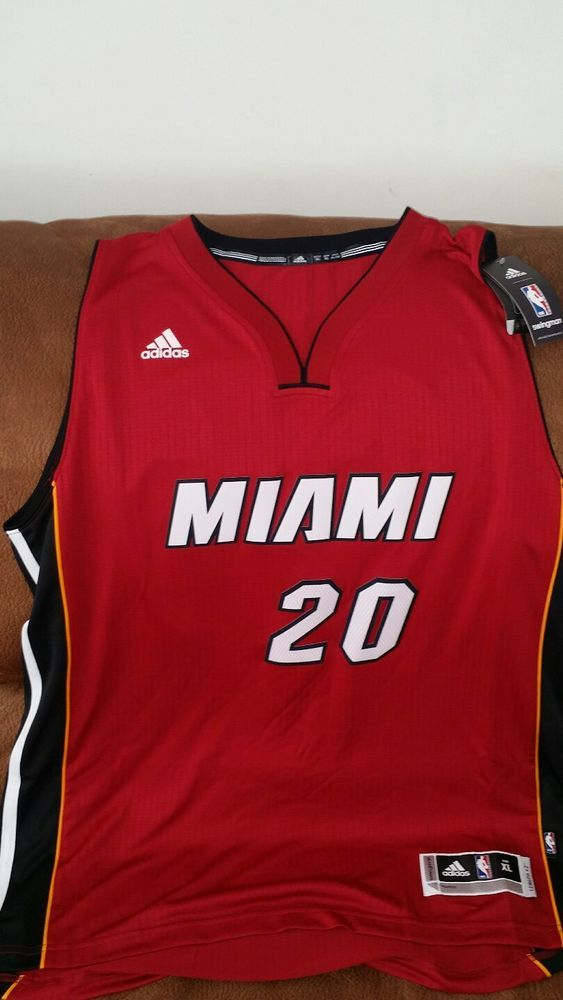 Adidas justise winslow #20 miami heat red nba jersey NWT size XL Lenght +2 mens | Sports Mem, Cards & Fan Shop, Fan Apparel & Souvenirs, Basketball-NBA | eBay!