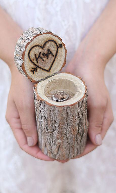 Morgann Hill Designs Engraved Personalized Tree Ring Box