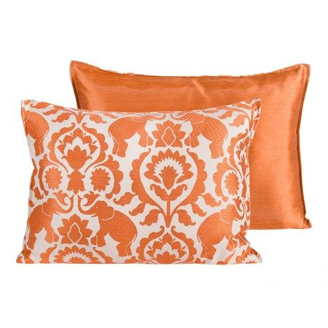 Orange Babar Pillow