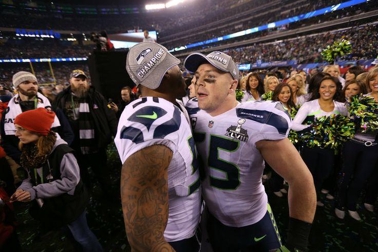 Seattle Seahawks - Bruce Irvin (OLB) & Heath Farwell (LB)