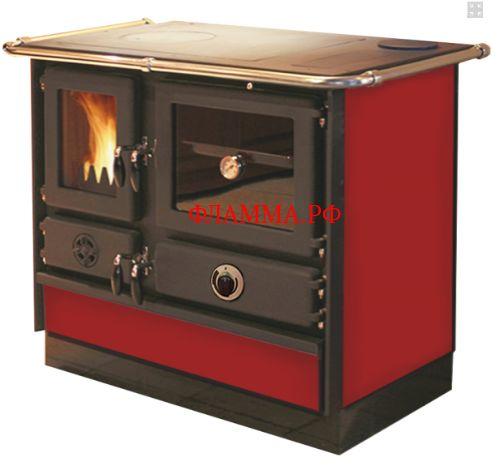 Печь-камин MBS THERMO MAGNUM RED L\R MBS (Сербия) на печном складе ФЛАММА  по цене 862.00 EUR    ПЕЧЬ-КАМИН MBS THERMO MAGNUM RED L\R     Дровяная кухонная плита предназначена для отопления небольших дачных домов и приготовления пищи. Печь изготовлена из чугуна и эмалированной стали. Эмалированное покрытие обеспечивает продолжительный срок службы печи и отвечает за эстетичный внешний вид. Доступно четыре цвета эмалированного покрытия: красный, кремовый, бордовый и черный. Печь…