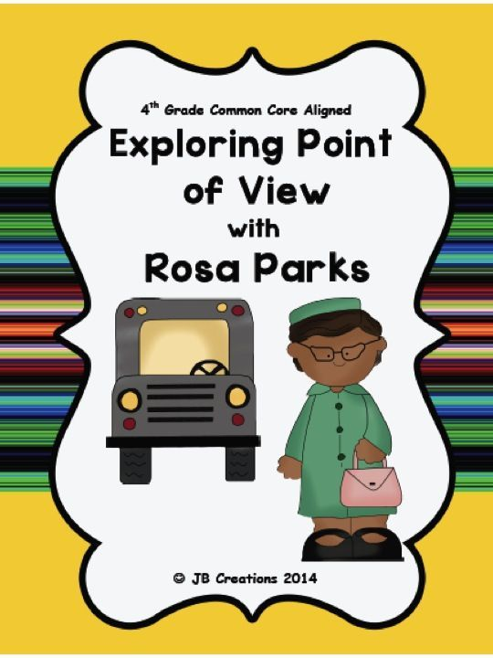 "This INTEGRATED COOPERATIVE LEARNING game will have kids up and moving in a ""group scoot"" format;  analyzing and discussing evidence in order to determine the point of view.  Using an integrated subject approach, students will learn facts about the Rosa Parks bus incident while they are practicing a common core LA standard.  Engaging and fun!  http://www.teacherspayteachers.com/Product/4th-Grade-Point-of-View-using-Rosa-Parks-Scoot-game-1158820"