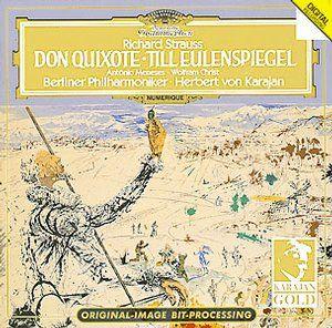 R. STRAUSS Don Quixote - Karajan - Deutsche Grammophon