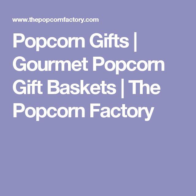 Popcorn Gifts | Gourmet Popcorn Gift Baskets | The Popcorn Factory