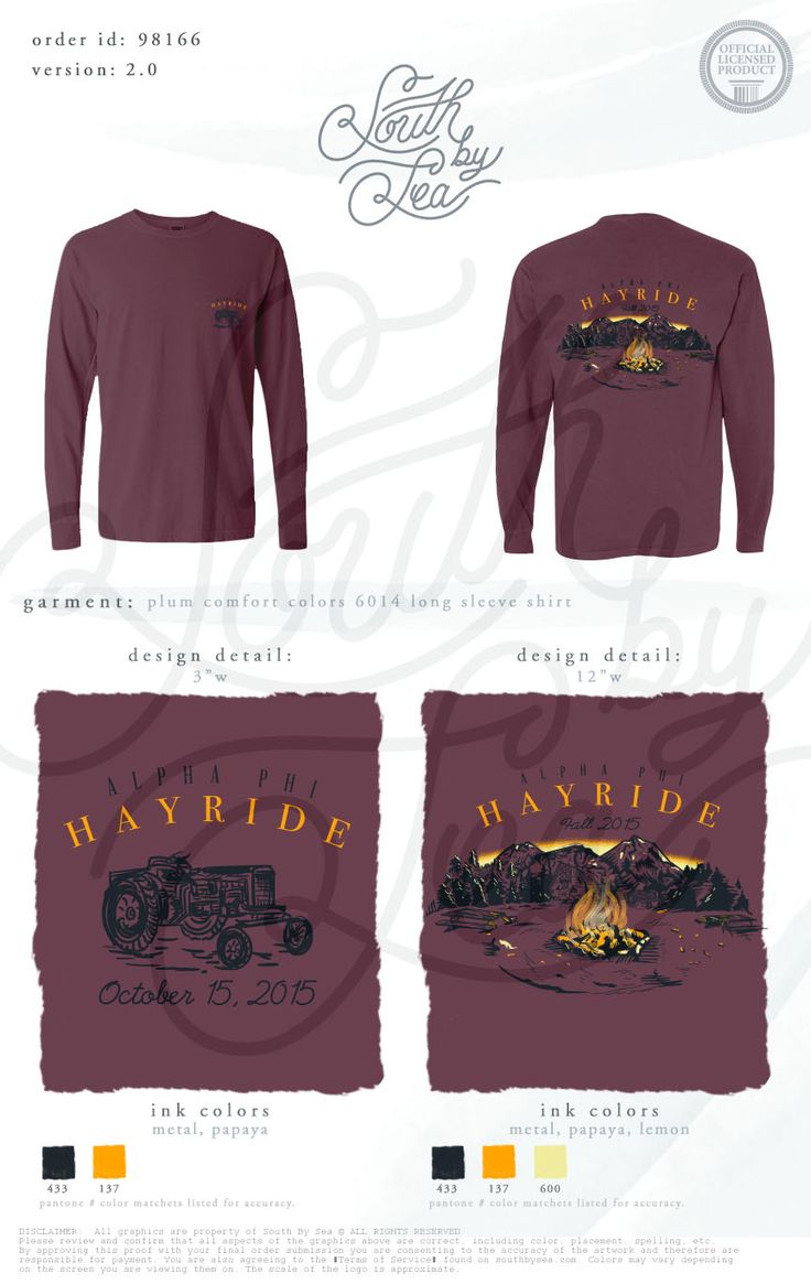 Shirts human design - Alpha Phi Hay Ride Fall Theme Tee Shirt Design South By Sea