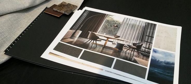 Interieuradvies collage met Minotti meubels