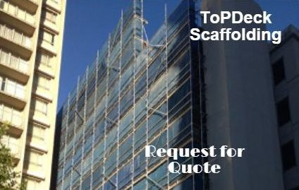 Topdeck Scaffolding  own our own quality galvanised Kwikstage scaffolding which allows us to get scaffold to site on time and at the right price. We are centrally located in Brookvale so you dont pay for excessive transport or travel ling times.