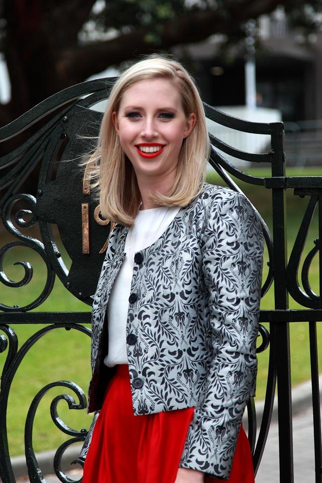 Versailles jacket  Milano top  Amsterdam skirt