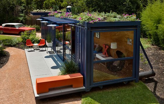 Wohnen im Seecontainer   Tiny Houses