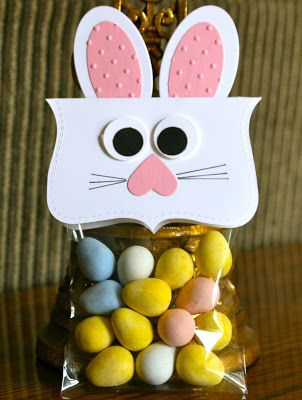 Stampin' Up! Top Note Easter Bunny by Krystals Cards and More: Easter Treats