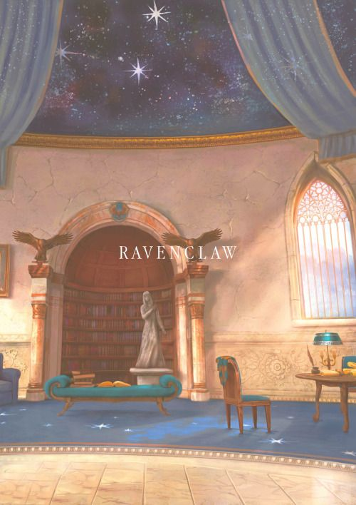 Pottermore Ravenclaw Common Room