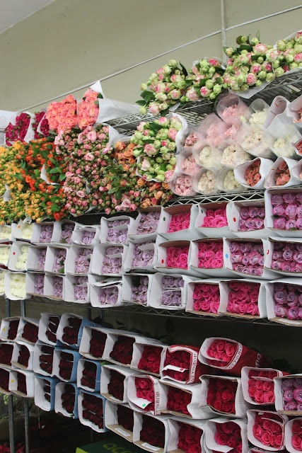 Flower Market, New York--pass this on my way into work each morning!