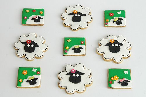 Ba Ba Sheep Cookies |