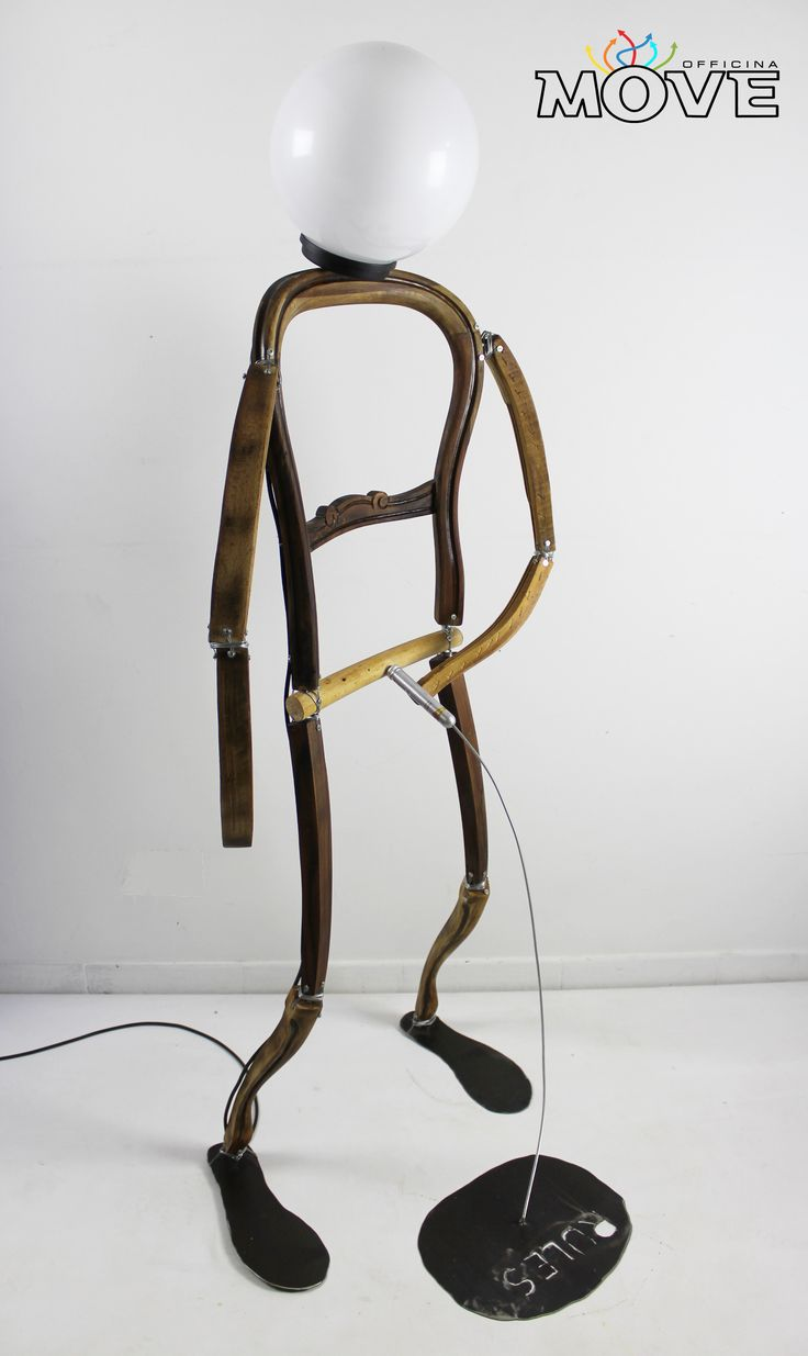 Old chairs start to walk- i dissidenti- alessandro ciafardini- officinamove- lamps-chair-