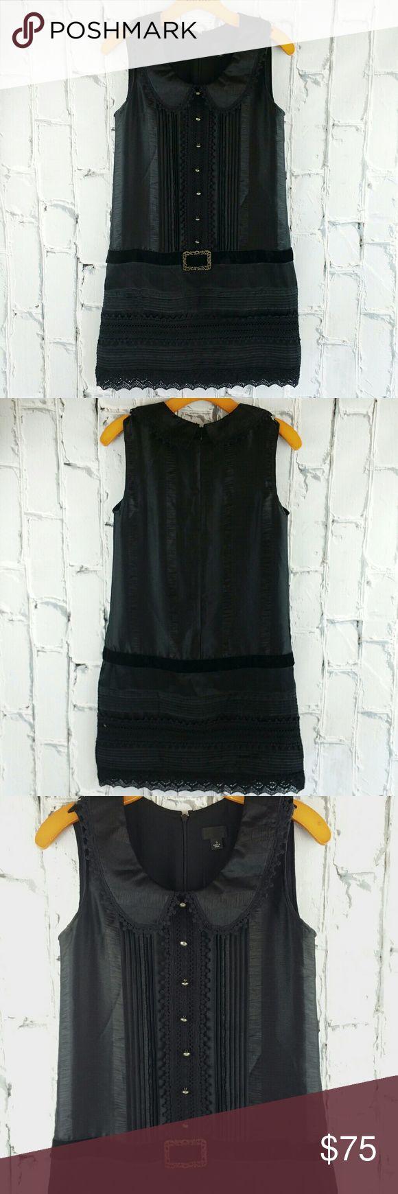 💞SALE💞 Anna Sui Black Cocktail Party  Dress