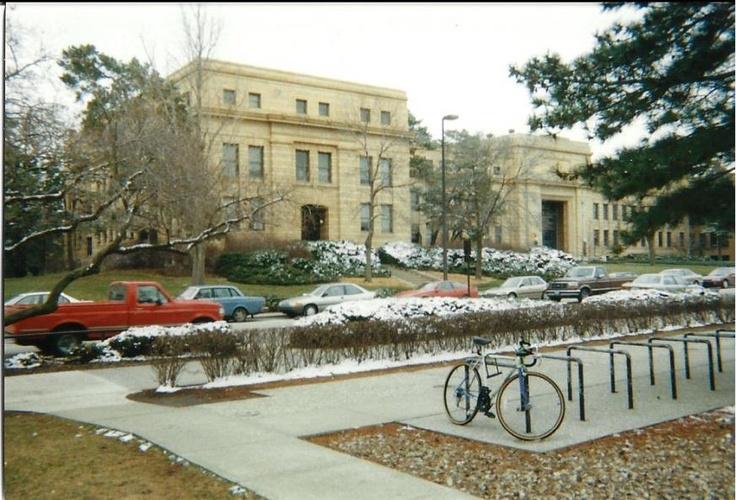 Strong Hall at KU (Administrative offices). I stood in a lot of lines in this place.