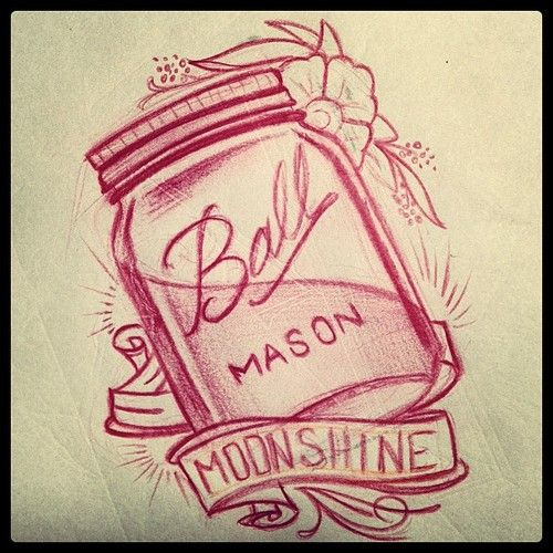 jam jar tattoo - Google Search